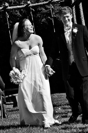 Just married! July 23, 2011.