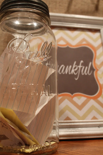 Thankfulness in a Jar