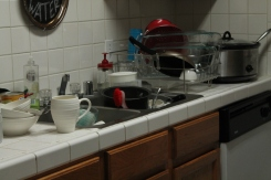 We need more storage for the kitchen (and I need to do dishes more often.